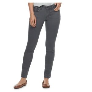 SONOMA Supersoft Midrise Sateen Skinny Pants